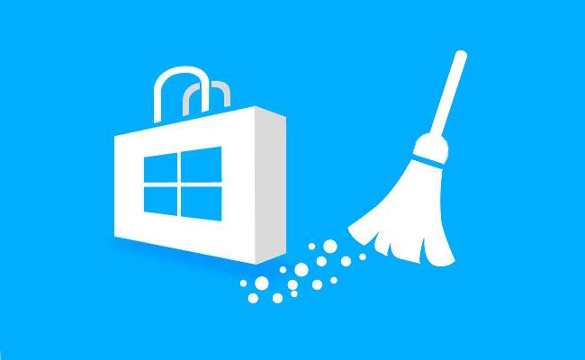 كيفية حذف أو مسح ذاكرة التخزين المؤقت من المتجر مخزن Windows - أستاذ falken.com