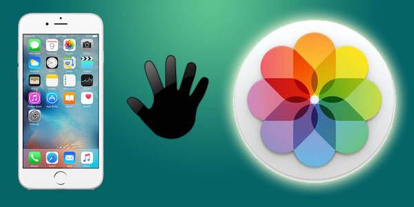 Evitar que la aplicación Fotos de tu Mac se abra al conectar el iPhone o la cámara - professor-falken.com
