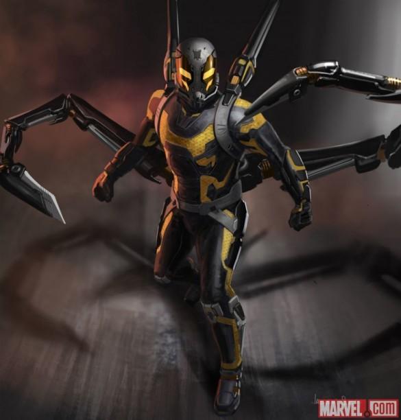 10 grandi sfondi di un altro dei supereroi Marvel, Ant-Man - Immagine 7 - Professor-falken.com