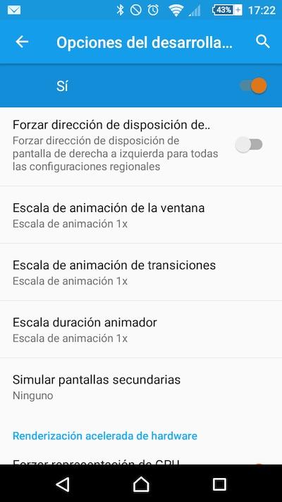Cómo acelerar las animaciones de los menús y pantallas en tu teléfono móvil Android - Image 2 - professor-falken.com