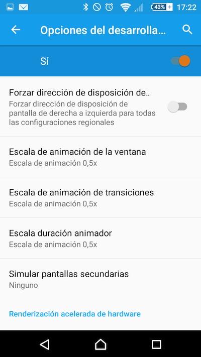 Cómo acelerar las animaciones de los menús y pantallas en tu teléfono móvil Android - Image 3 - professor-falken.com