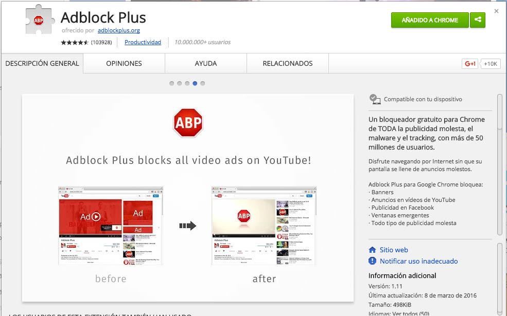 Comment faire pour bloquer des annonces gênantes Internet intrusive dans Chrome - Image 2 - Professor-falken.com