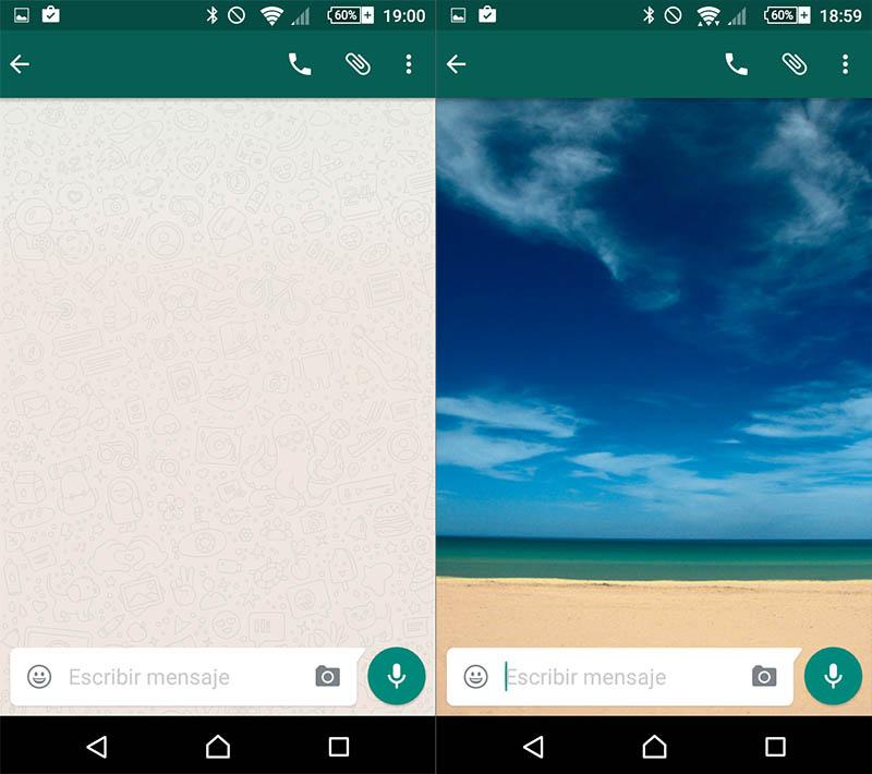 Como mudar o papel de parede do WhatsApp fala - Imagem 3 - Professor-falken.com