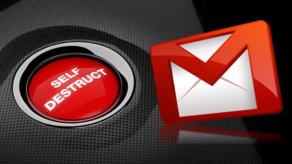 Как послать emails что самоуничтожения с GMail - Профессор falken.com