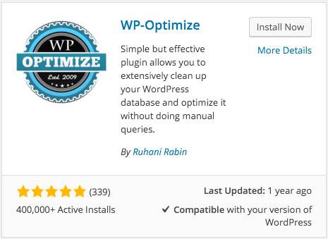Πώς να βελτιστοποιήσετε εύκολα σας WordPress βάση δεδομένων - Εικόνα 2 - Καθηγητής-falken