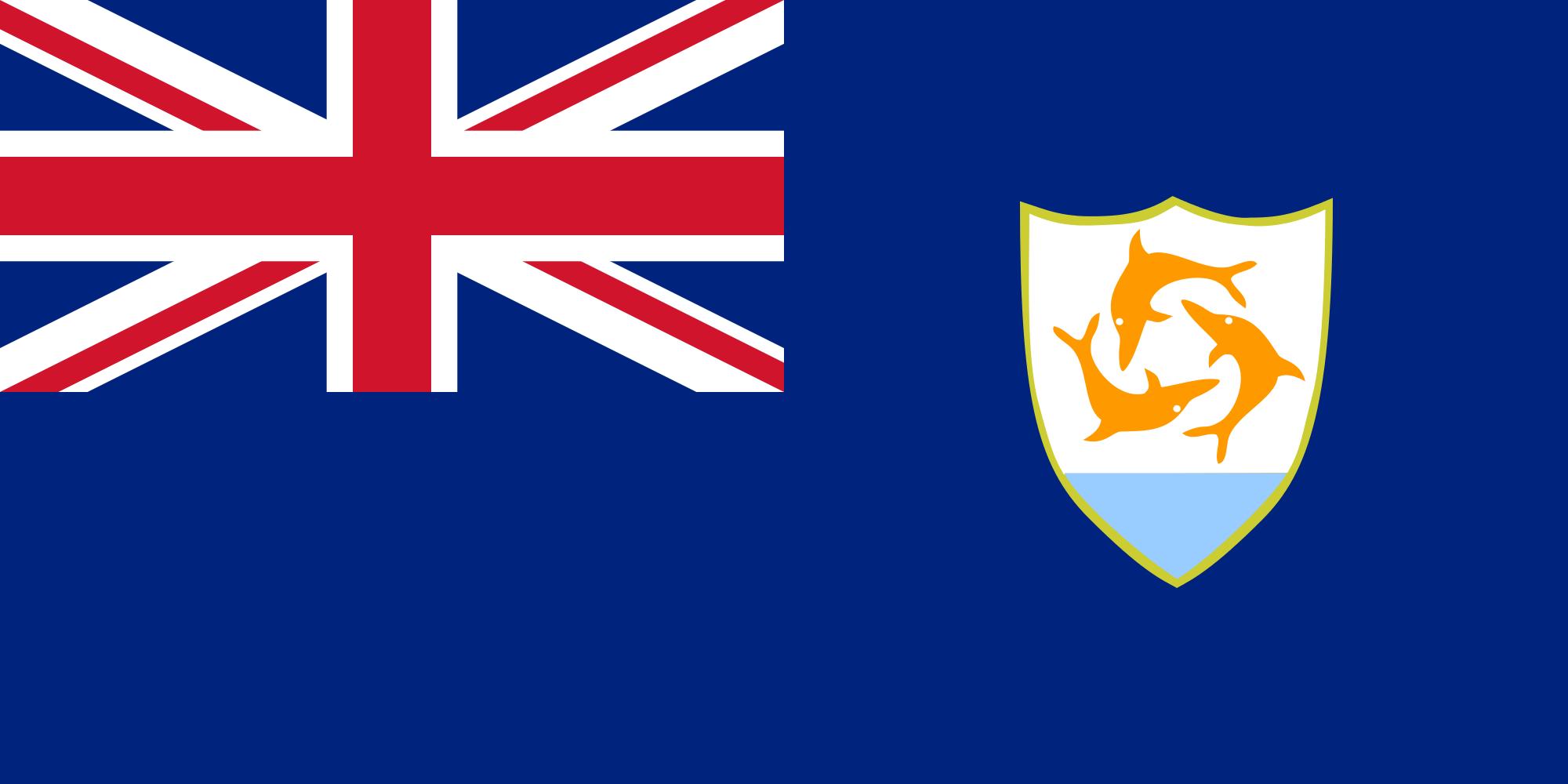 anguila, страна, Эмблема, логотип, символ - Обои HD - Профессор falken.com