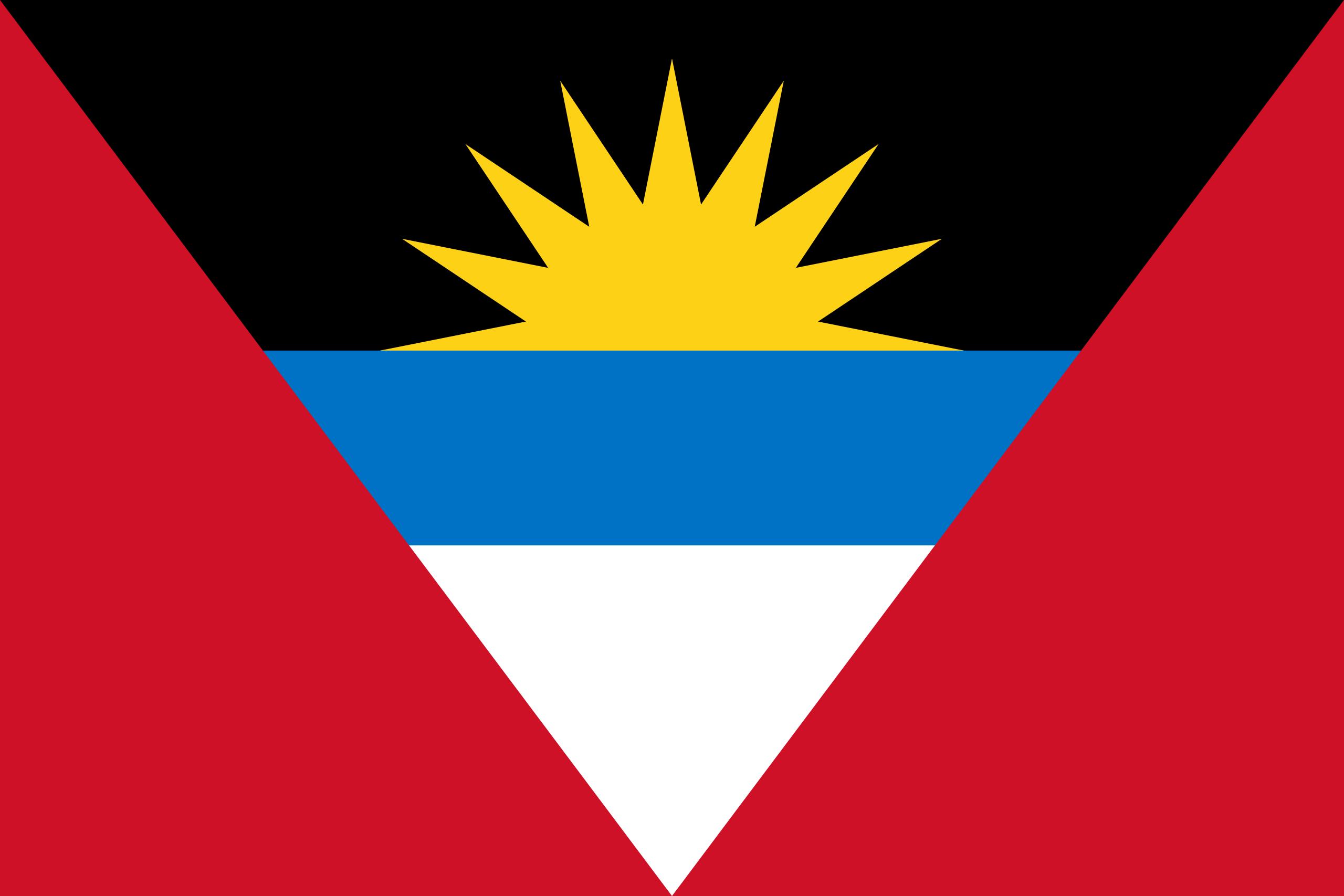 Antígua e barbuda, país, Brasão de armas, logotipo, símbolo - Papéis de parede HD - Professor-falken.com