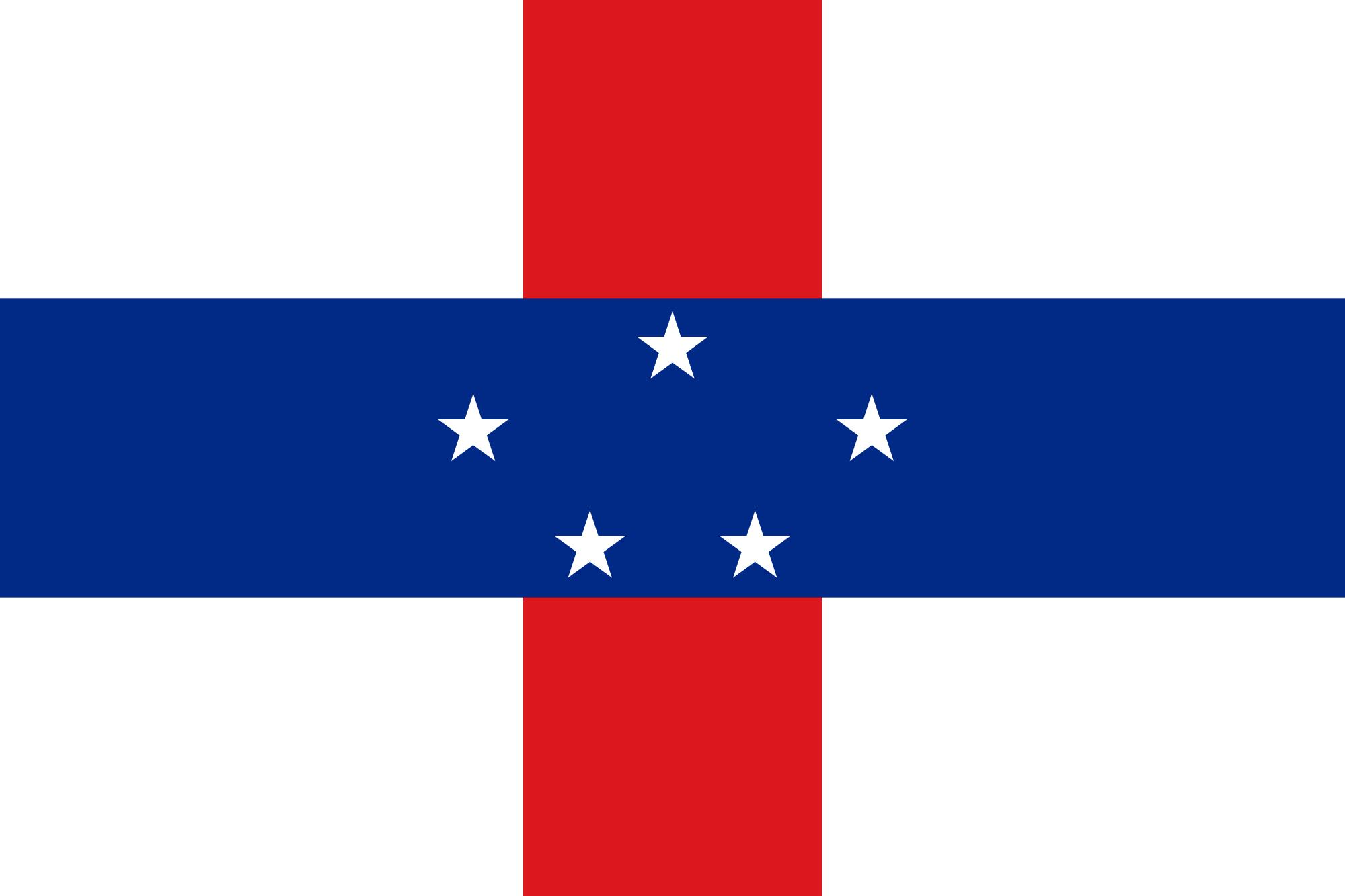 antillas holandesas, paese, emblema, logo, simbolo - Sfondi HD - Professor-falken.com
