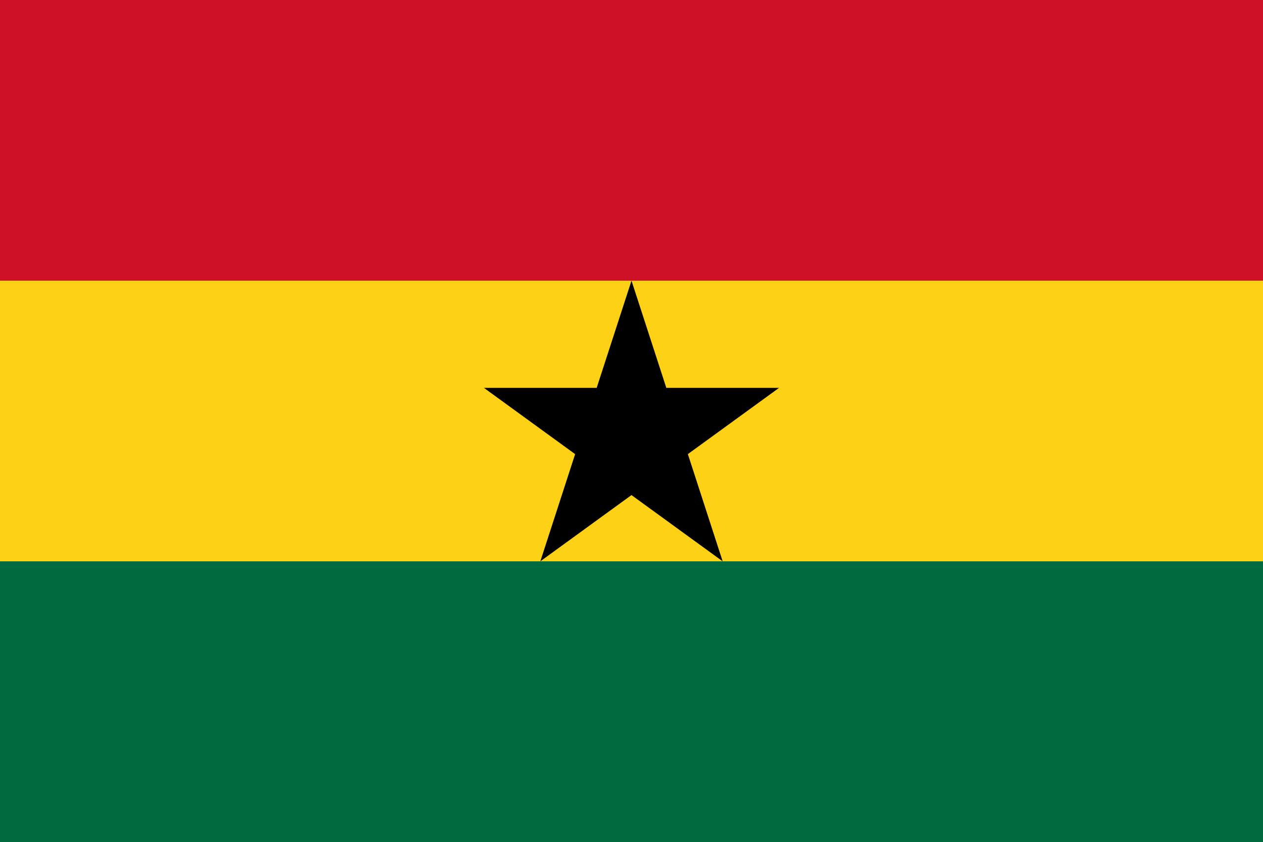 ghana, страна, Эмблема, логотип, символ - Обои HD - Профессор falken.com