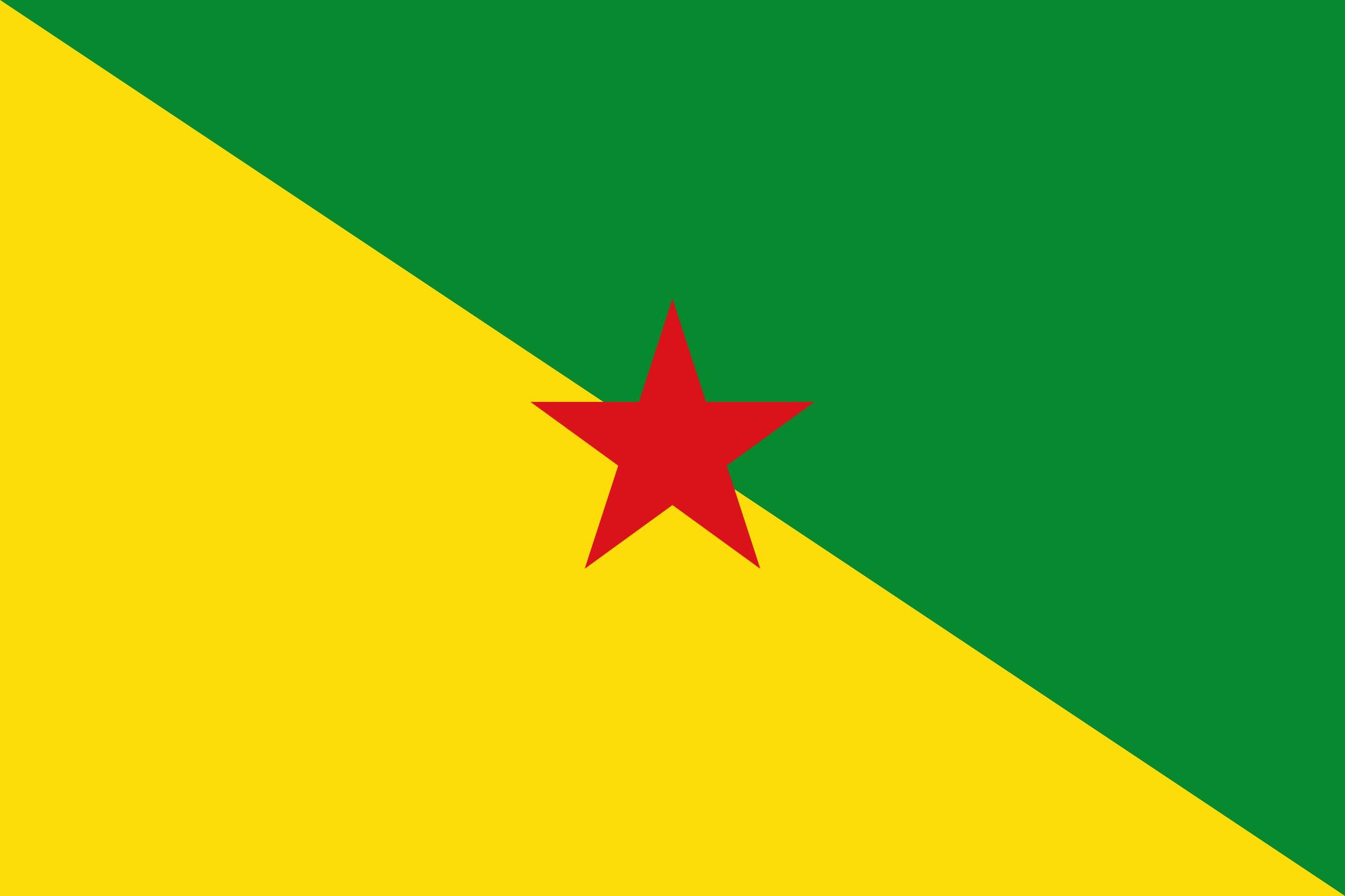 Guiana francesa, país, Brasão de armas, logotipo, símbolo - Papéis de parede HD - Professor-falken.com