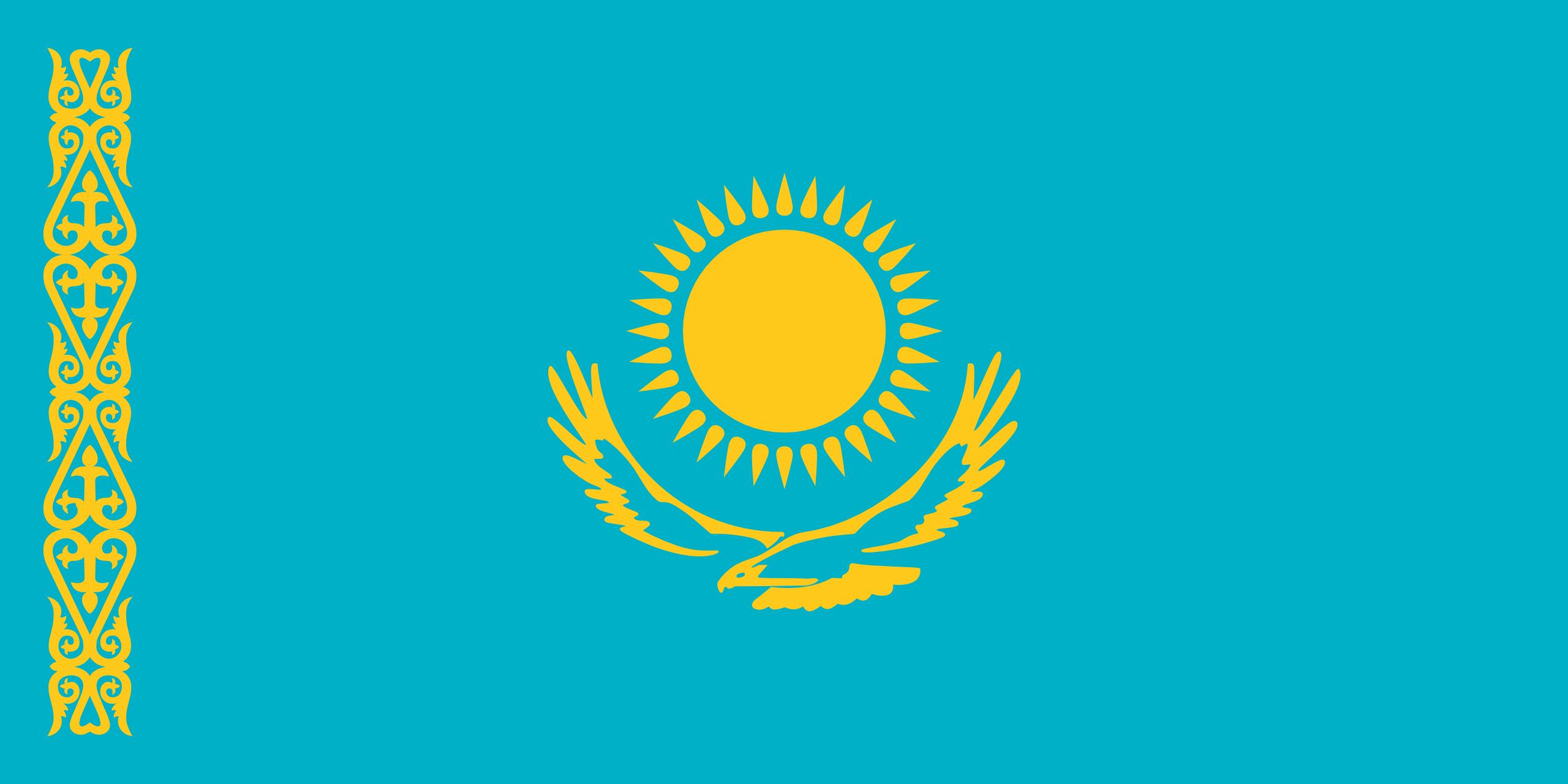 kazajistán, país, emblema, insignia, シンボル - HD の壁紙 - 教授-falken.com