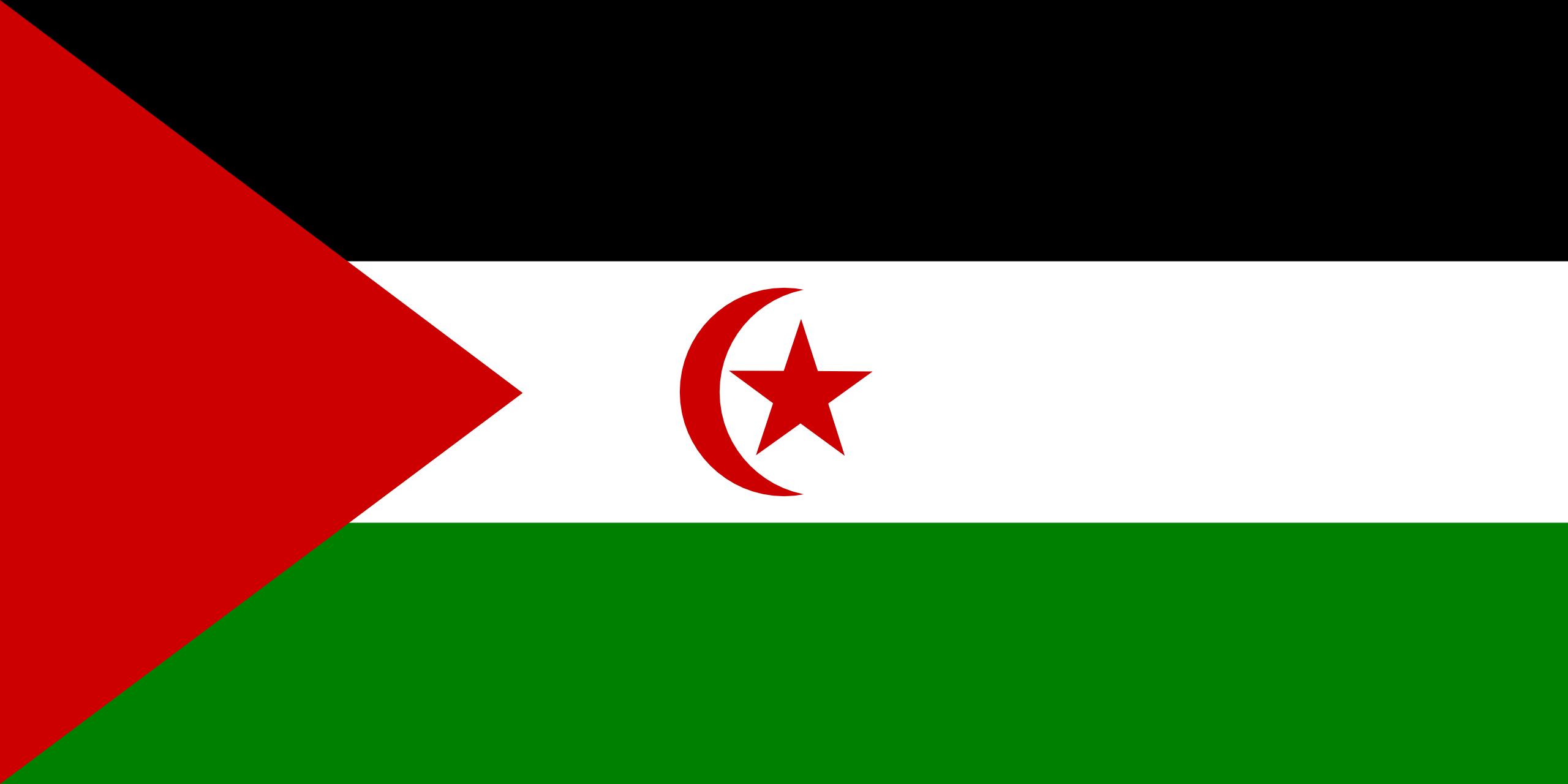 sahara occidental, país, emblema, insignia, símbolo - Fondos de Pantalla HD - professor-falken.com