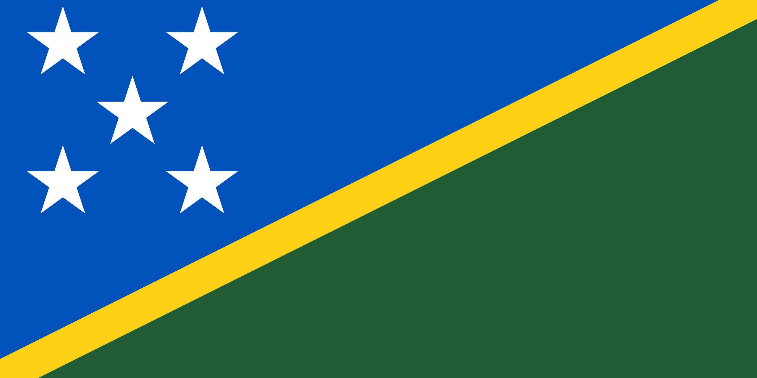 Îles Salomon, pays, emblème, logo, symbole - Fonds d'écran HD - Professor-falken.com