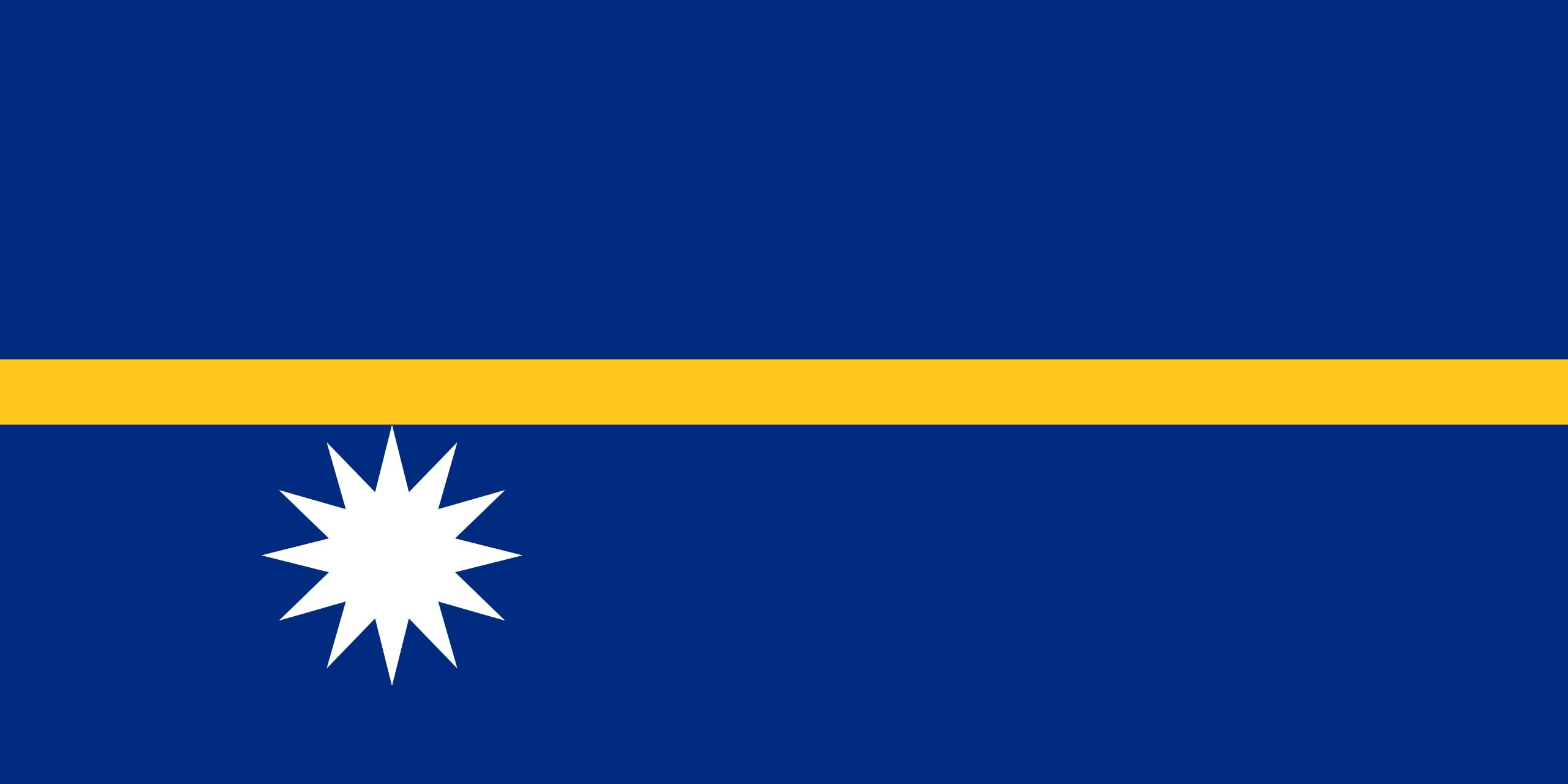 Nauru, país, Brasão de armas, logotipo, símbolo - Papéis de parede HD - Professor-falken.com