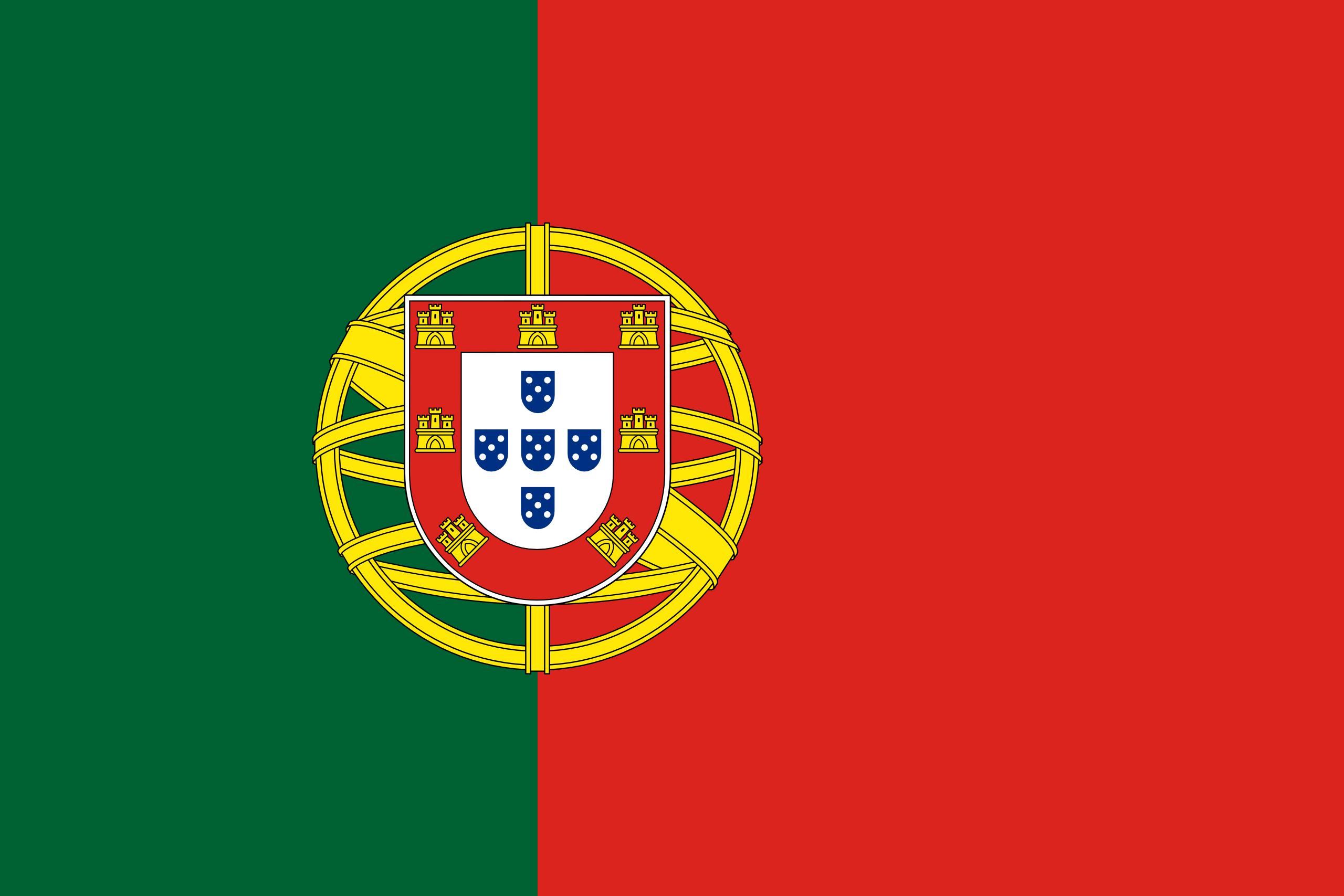 portugal, país, emblema, insignia, シンボル - HD の壁紙 - 教授-falken.com