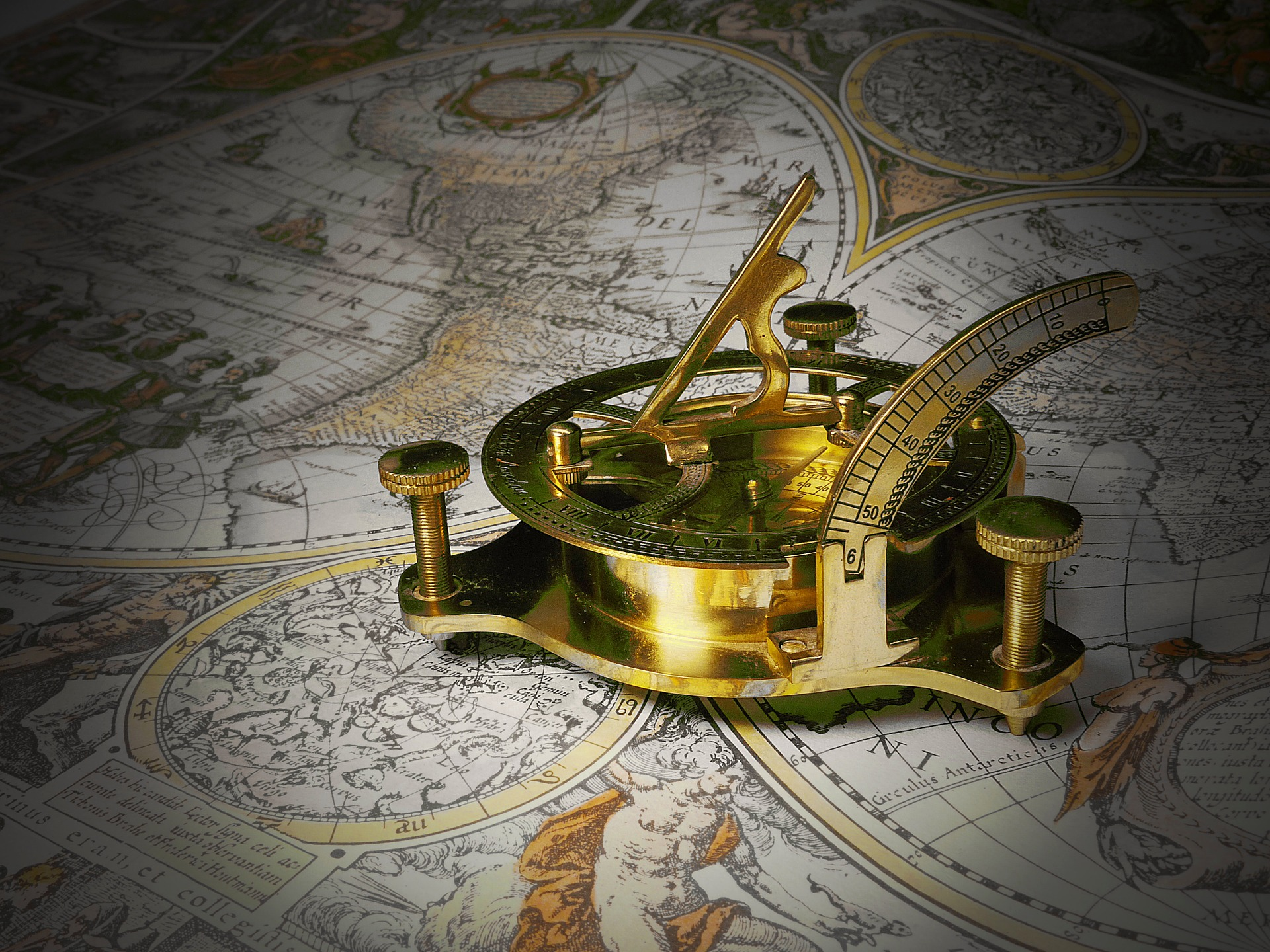 手表, 日晷, 口径, 地图, 地理, 多拉多 - 高清壁纸 - 教授-falken.com