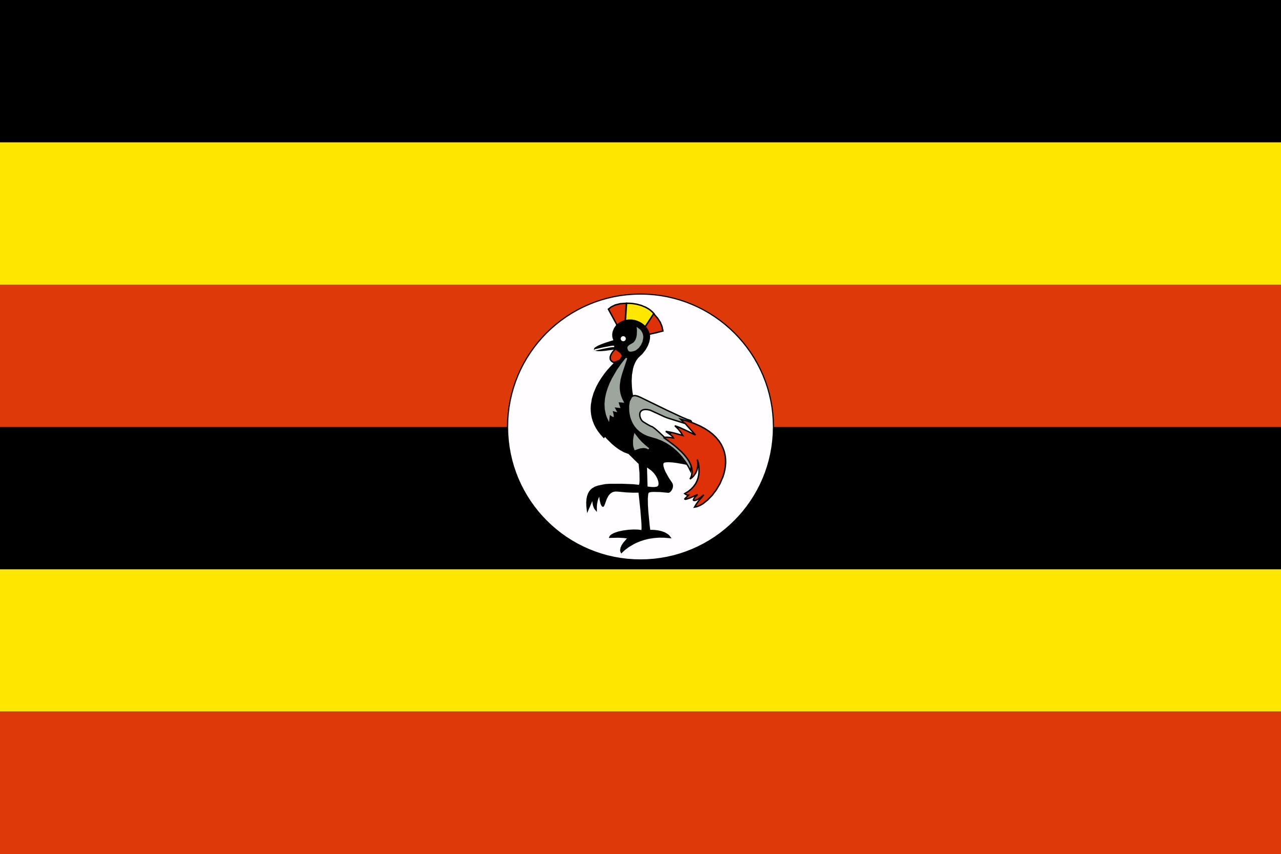 uganda, país, emblema, insignia, σύμβολο - Wallpapers HD - Professor-falken.com