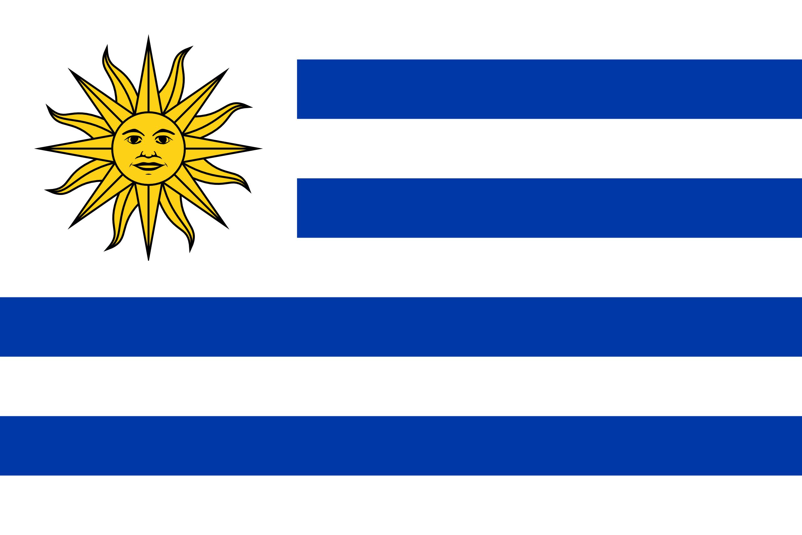 Ουρουγουάη, χώρα, έμβλημα, λογότυπο, σύμβολο - Wallpapers HD - Professor-falken.com