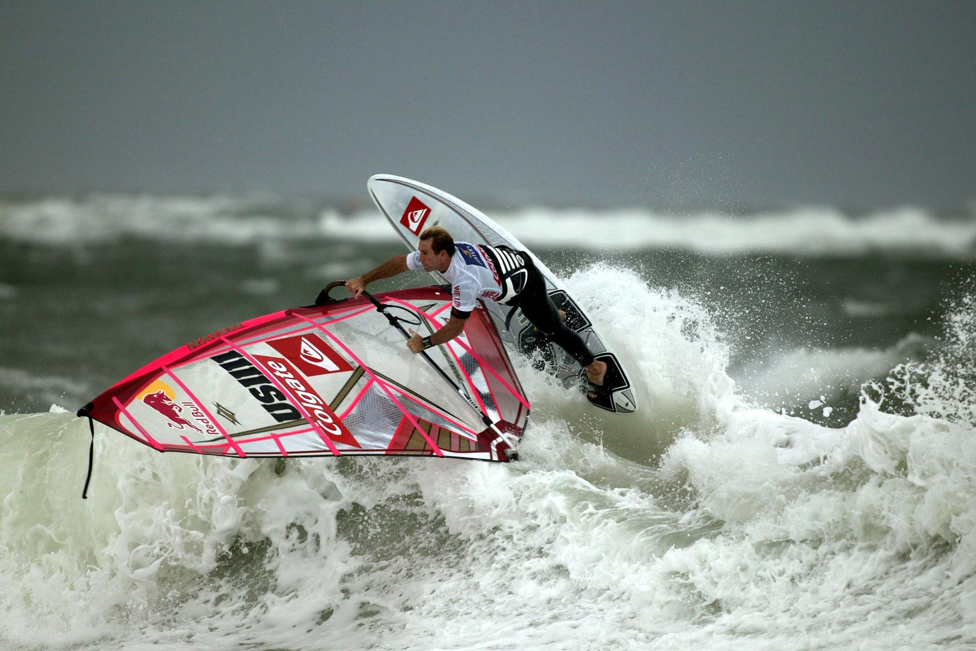 planche à voile, Surf, Mer, vague, surfeur - Fonds d'écran HD - Professor-falken.com