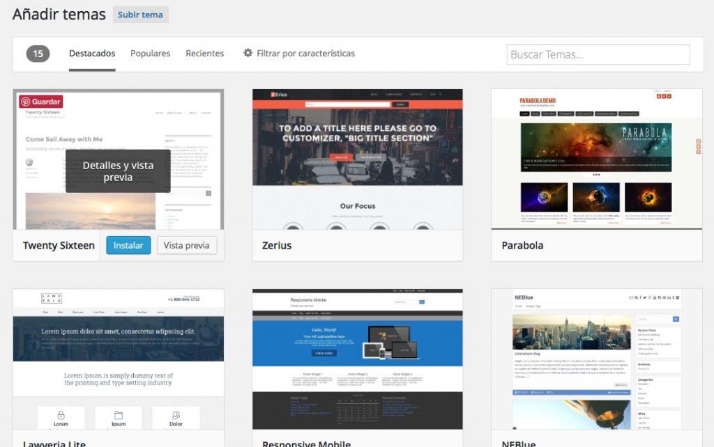 Come cambiare il tema del tuo sito web WordPress - Immagine 3 - Professor-falken.com