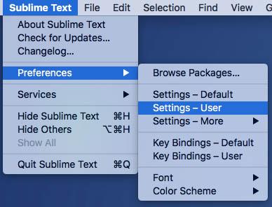 एक उदात्त पाठ फ़ाइल एन् कोडिंग वर्तमान को देखने के लिए कैसे 3 - छवि 1 - प्रोफेसर-falken.com