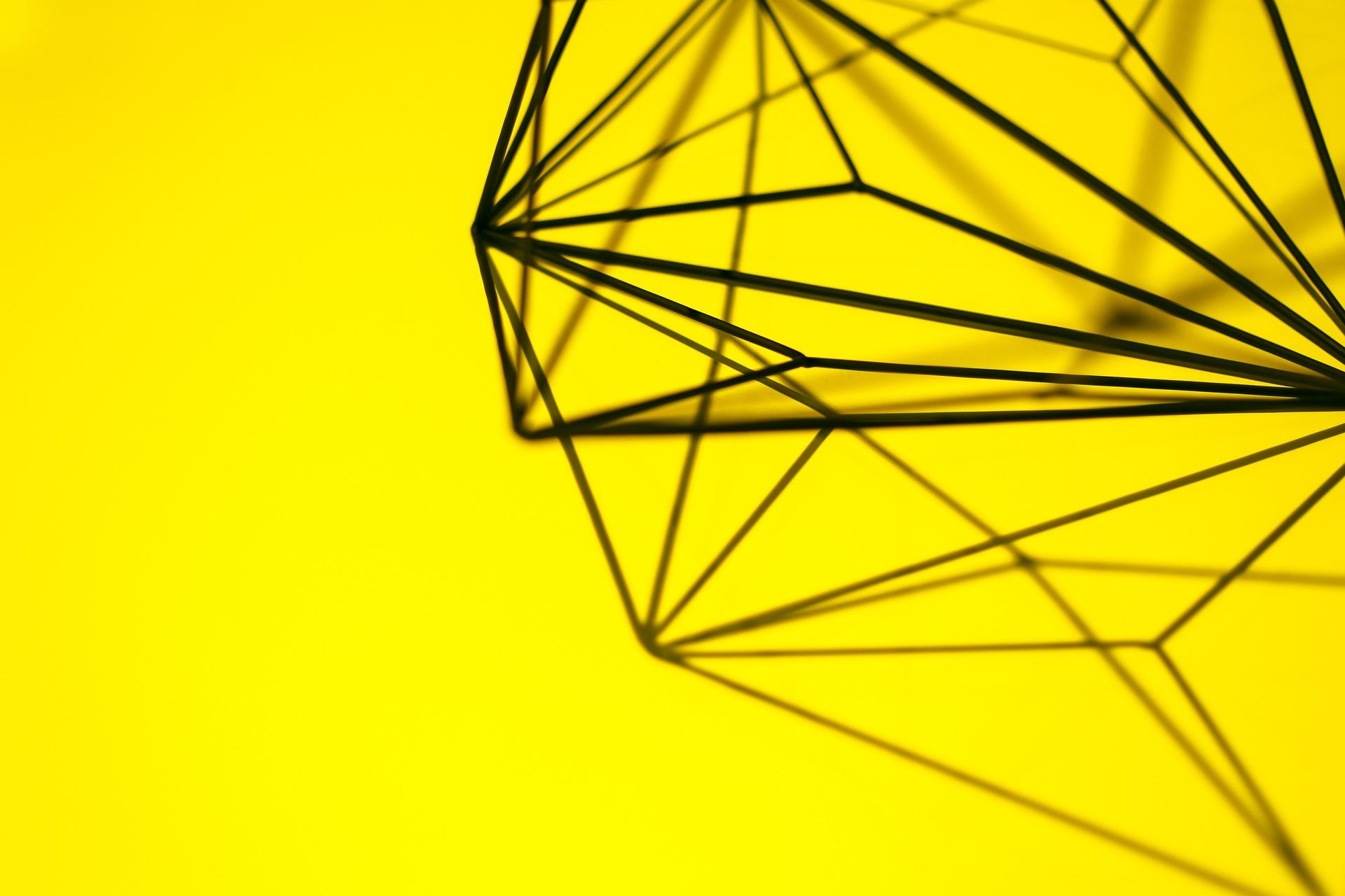 geometria, projeto, criatividade, arte, Amarelo - Papéis de parede HD - Professor-falken.com