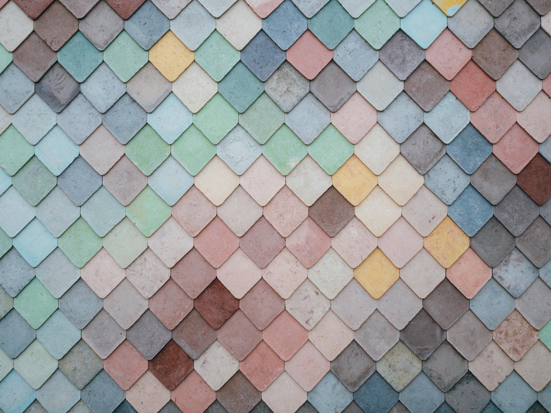 Parete, tetto, Texas, mattonelle, lastre, colori - Sfondi HD - Professor-falken.com