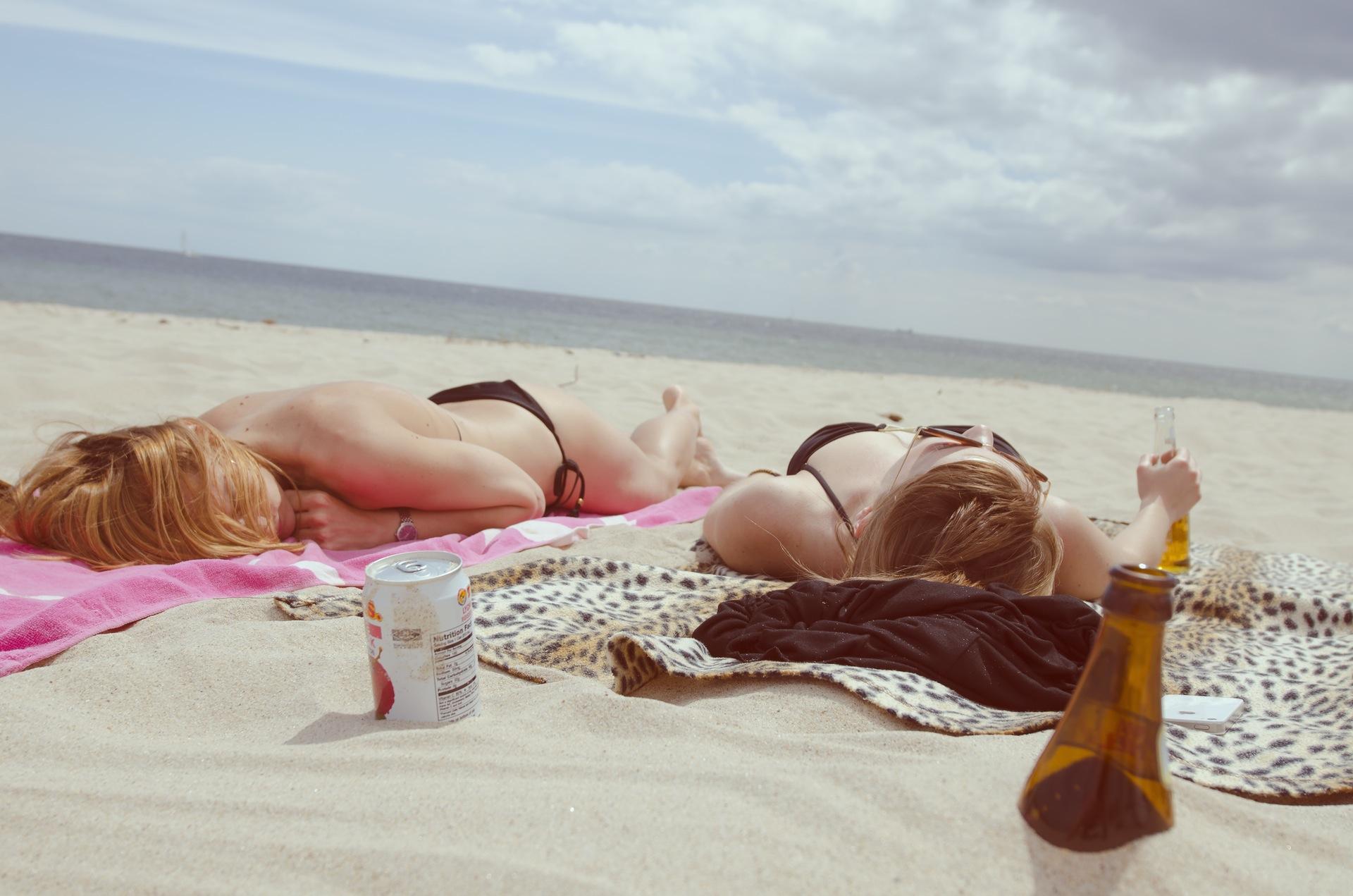 Пляж, Солнце, песок, Небо, расслабиться, Море - Обои HD - Профессор falken.com