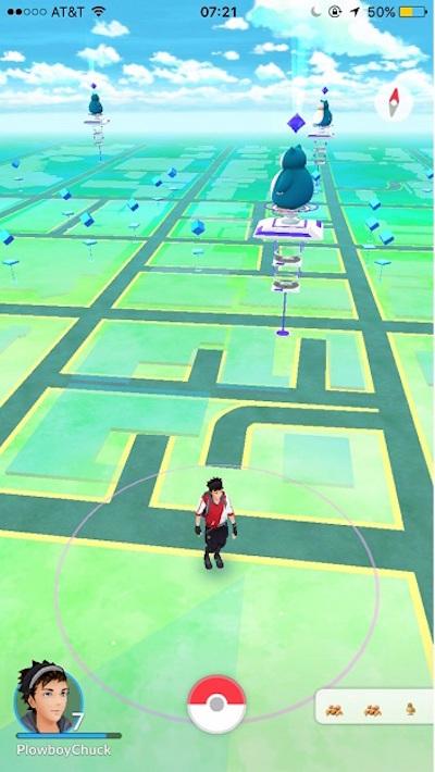 Pokemon Go, Scaricare un semplice gioco di pick-up che ha già milioni di giocatori - Immagine 6 - Professor-falken.com
