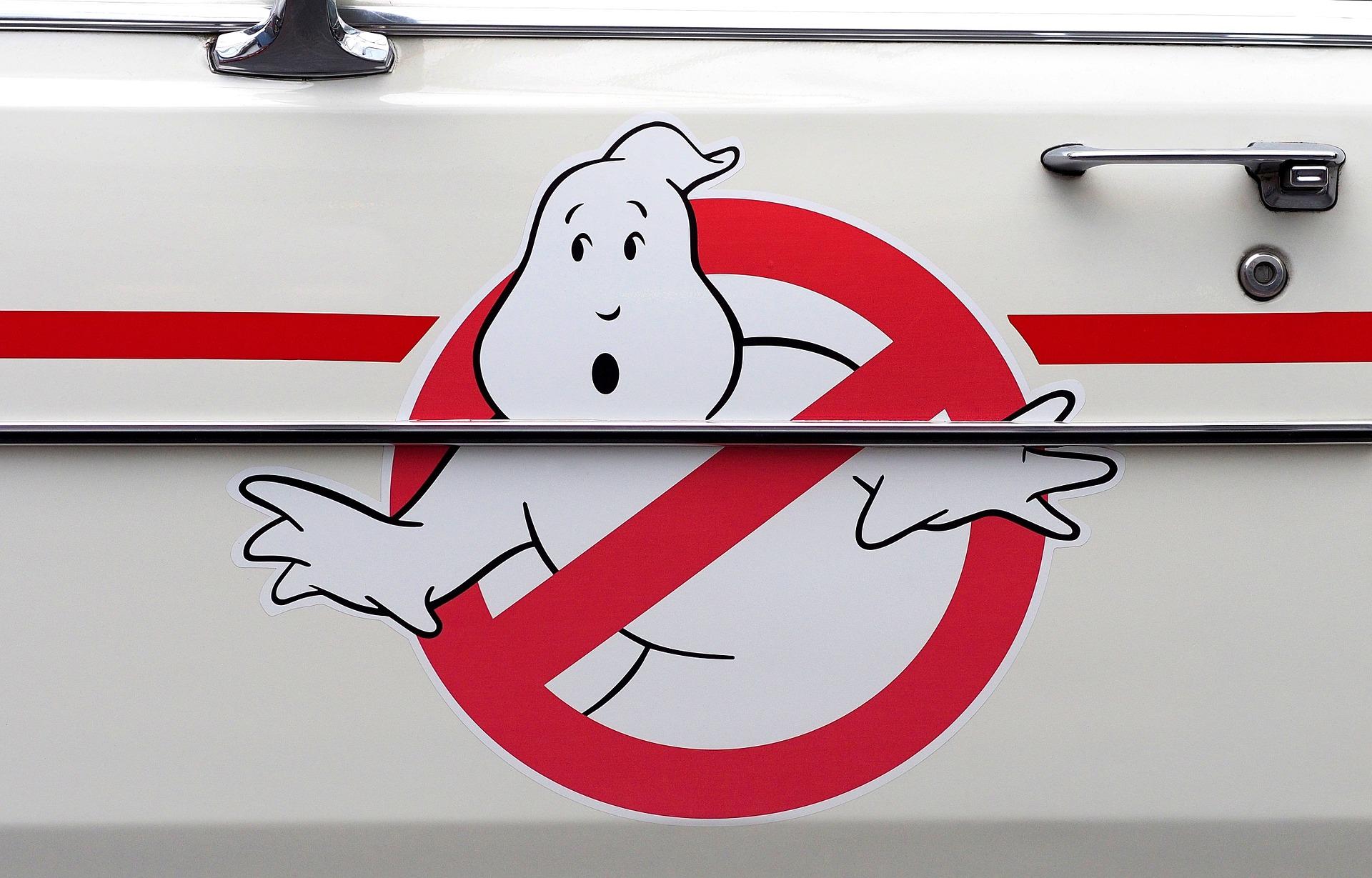 Ghostbusters, λογότυπο, αυτοκίνητο, Cadillac, νοσταλγία - Wallpapers HD - Professor-falken.com