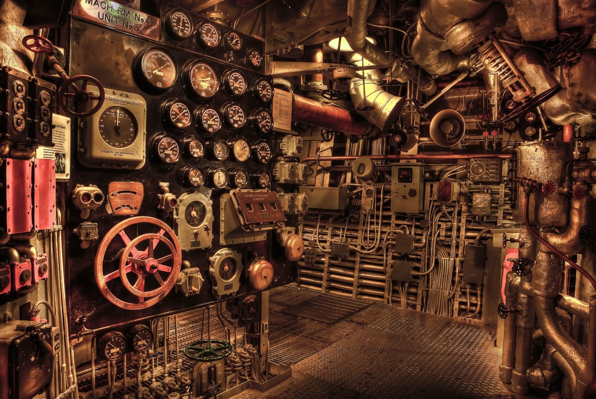 sala de máquinas, válvulas, Engrenagens, chaves, máquina - Papel de parede HD - Professor-falken.com