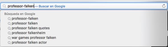 検索エンジンの候補を OS X のサファリを無効にする方法 - イメージ 1 - 教授-falken.com