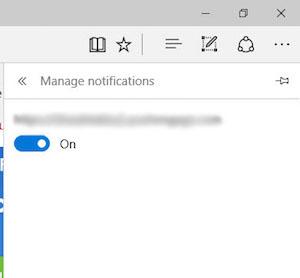 Comment faire pour désactiver le navigateur Edge Microsoft sur les notifications de Windows 10 - Image 4 - Professor-falken.com