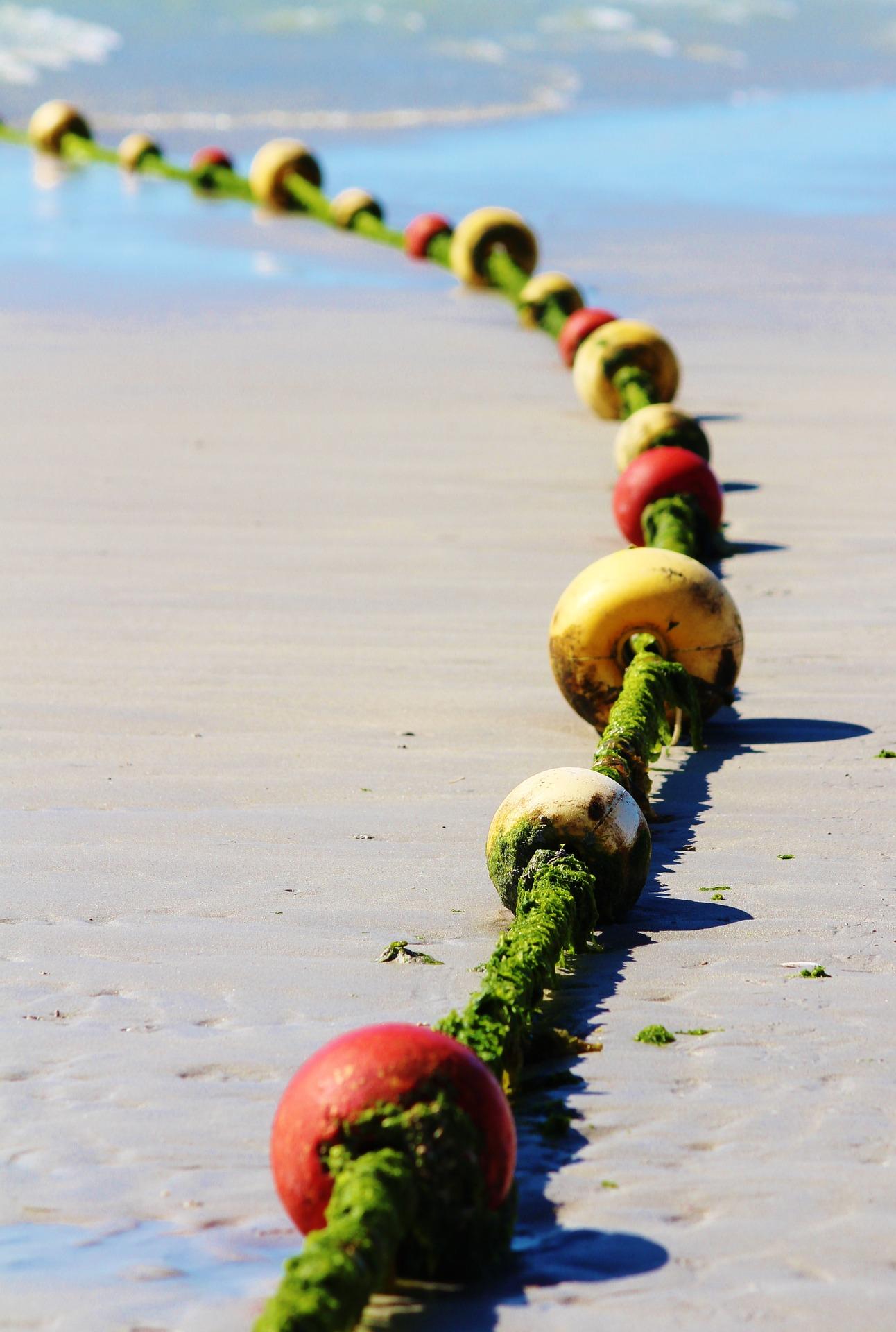 δίκτυο, σχοινί, σημαδούρες, Παραλία, Θάλασσα - Wallpapers HD - Professor-falken.com