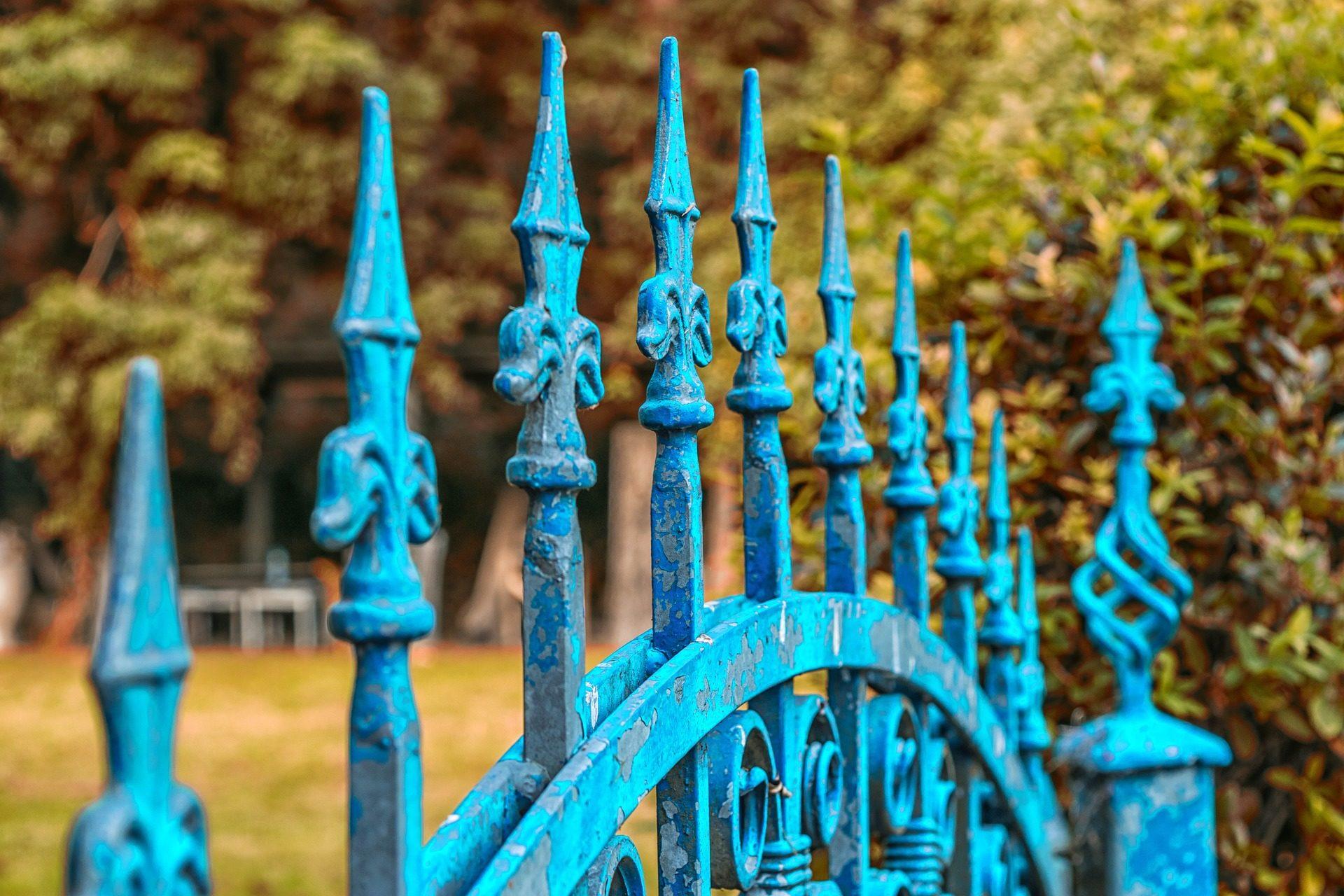 cerca, porta, Jardim, decoração, vintage - Papéis de parede HD - Professor-falken.com