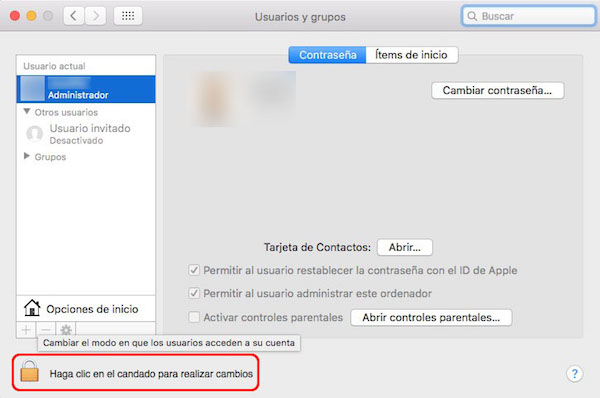 Come modificare il nome di un account utente sul vostro Mac - Immagine 2 - Professor-falken.com