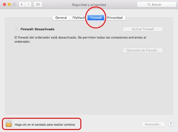 Como configurar o firewall ou firewall e proteger o seu Mac - Imagem 2 - Professor-falken.com