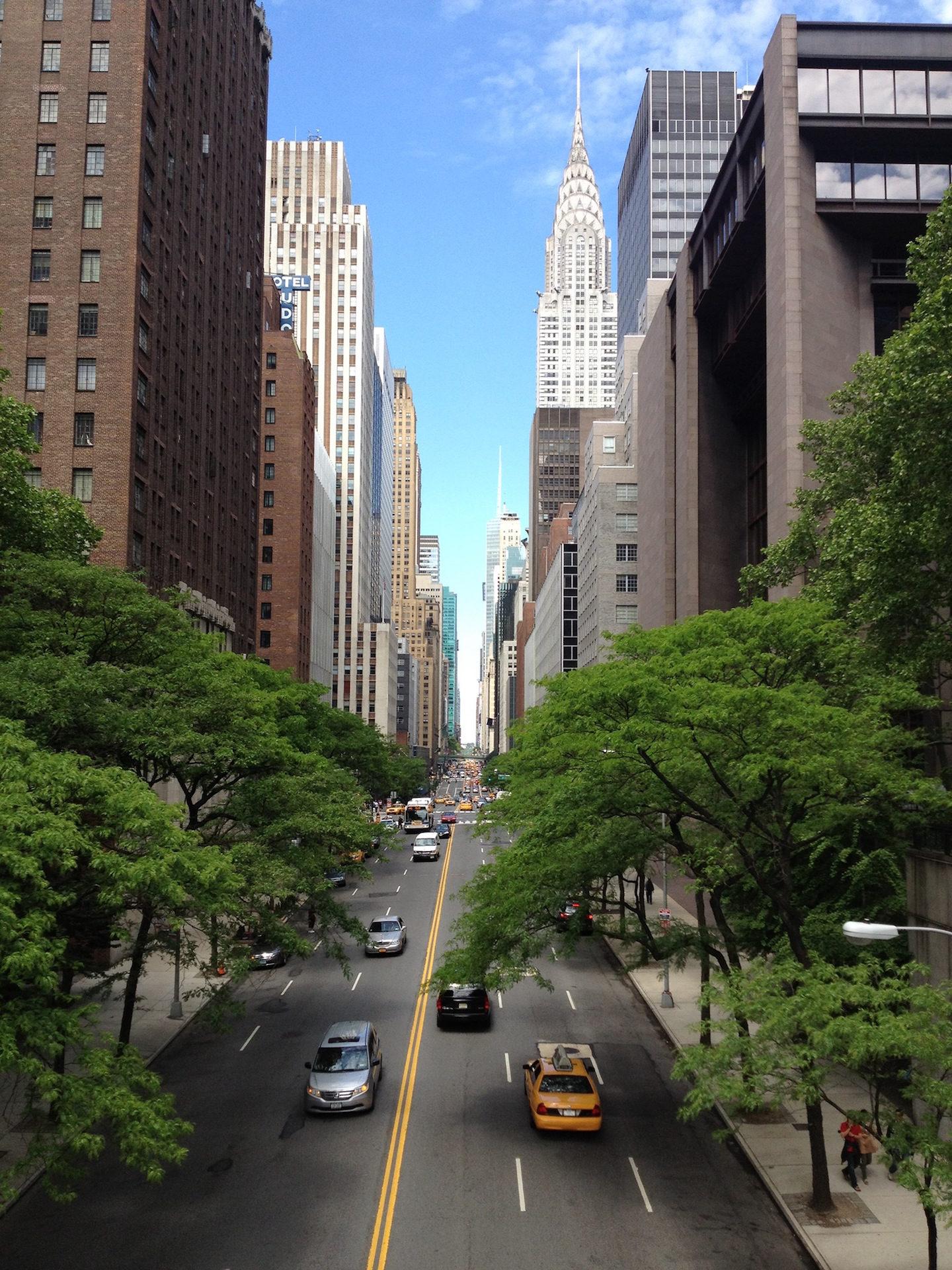 Città, Via, New york, Apple, grattacielo - Sfondi HD - Professor-falken.com