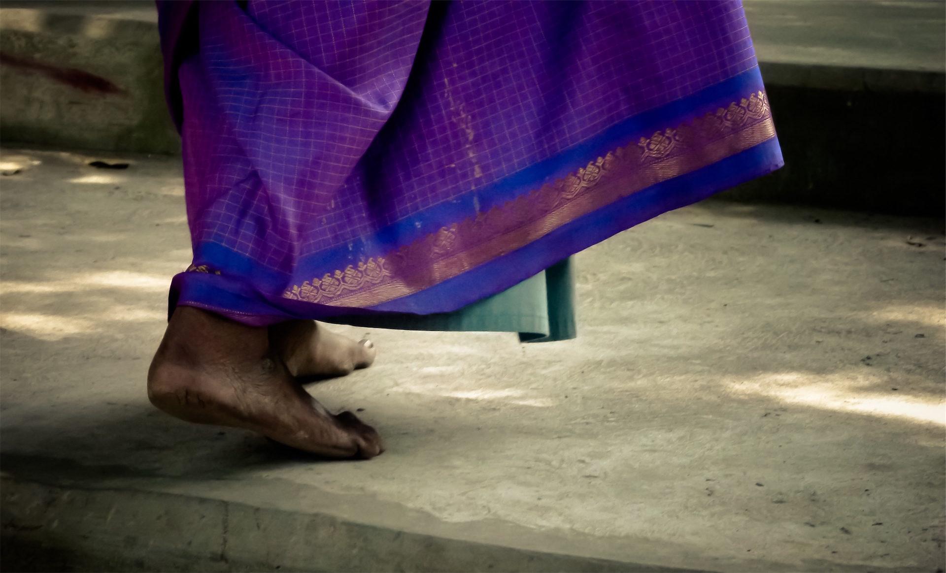フィート, descalza, 女性, vestiduras, インド - HD の壁紙 - 教授-falken.com