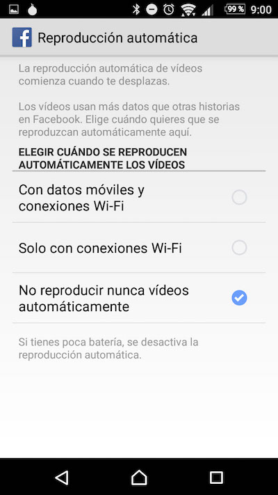 Gewusst wie: deaktivieren Sie automatische Wiedergabe von Videos auf Ihrem Android Facebook-app - Bild 4 - Prof.-falken.com