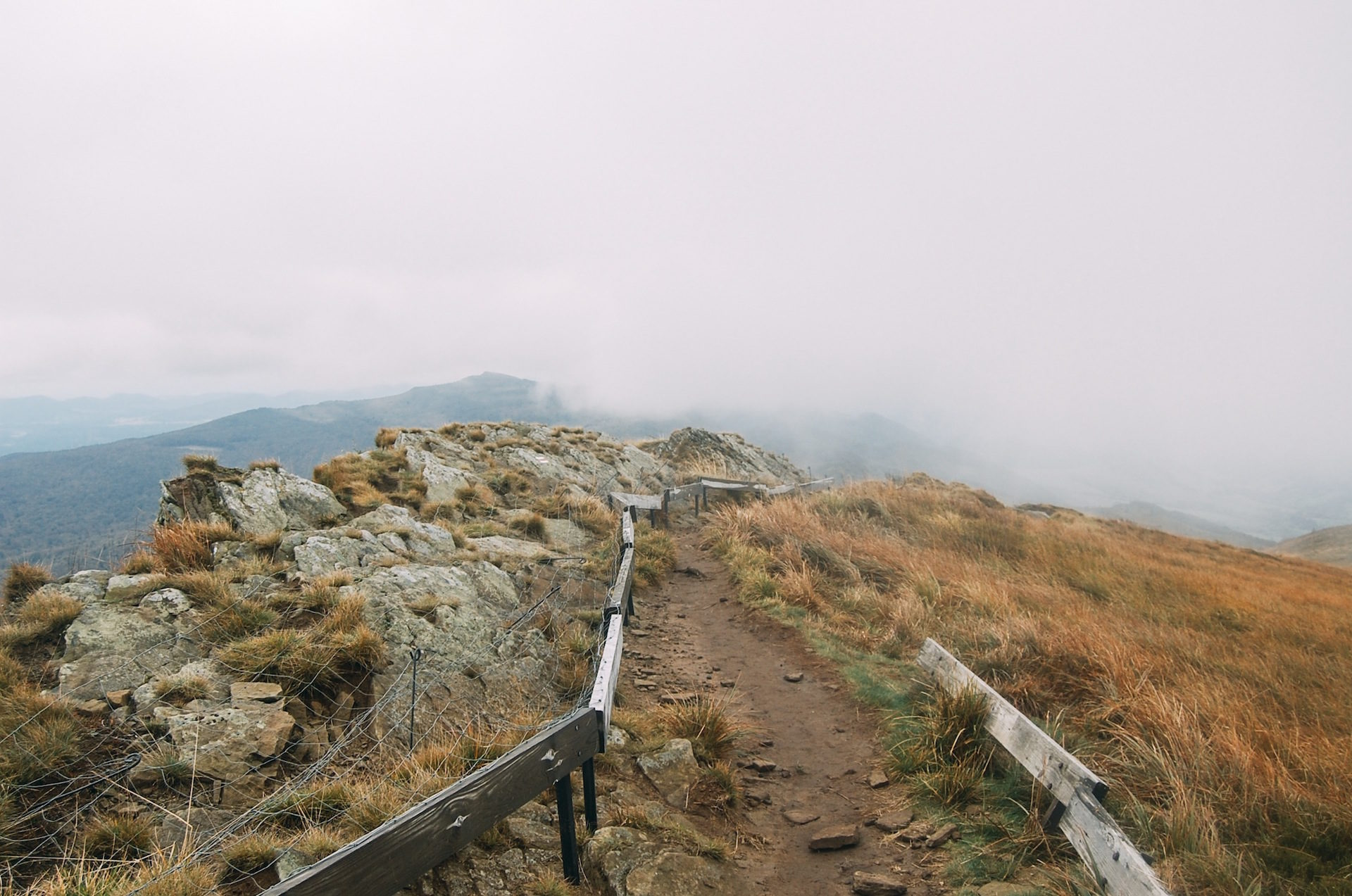 camino, campo, montaña, niebla, perdido - Fondos de Pantalla HD - professor-falken.com