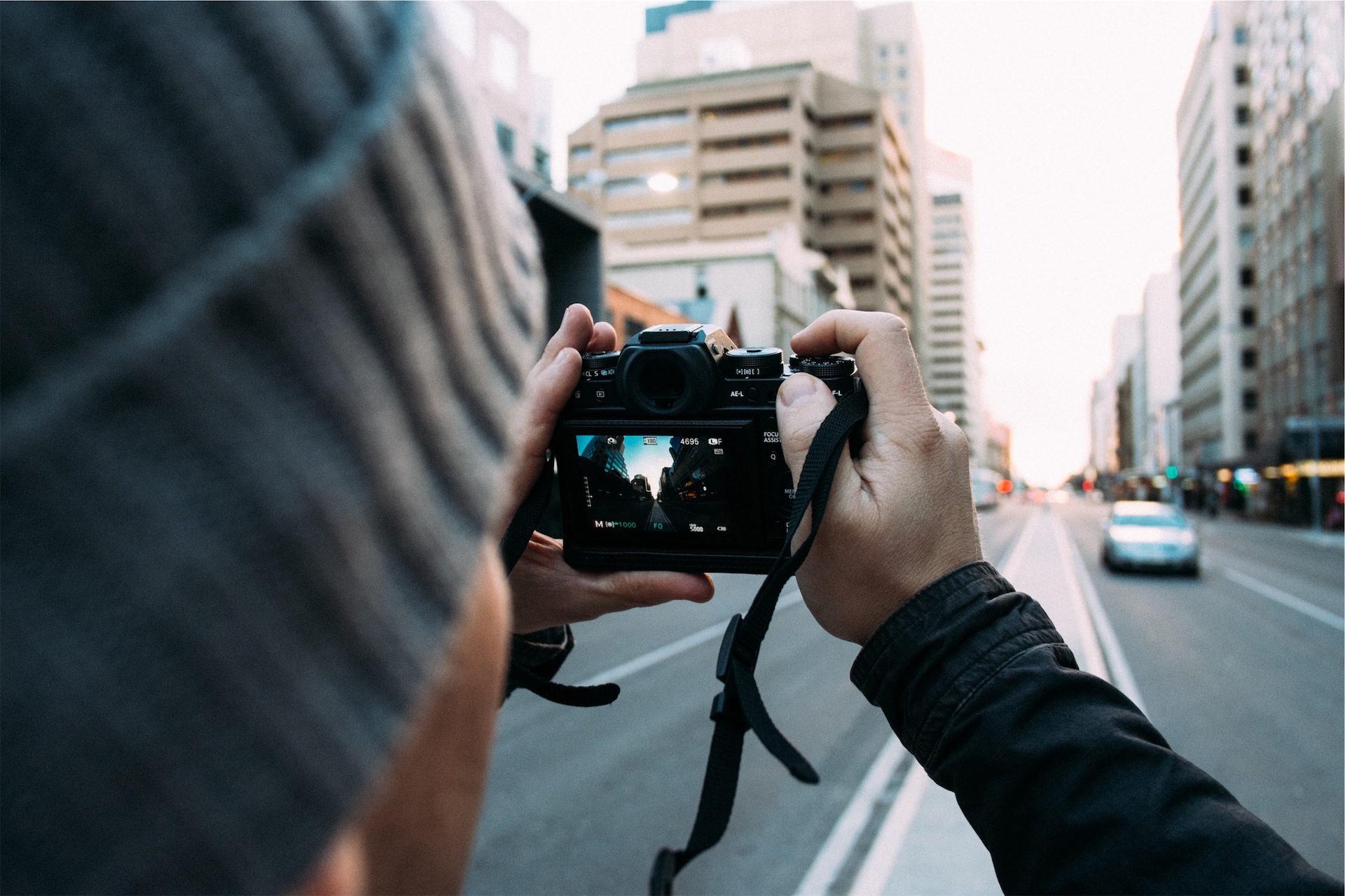 Cidade, homem, Cámara, Fotografía, Turismo - Papéis de parede HD - Professor-falken.com