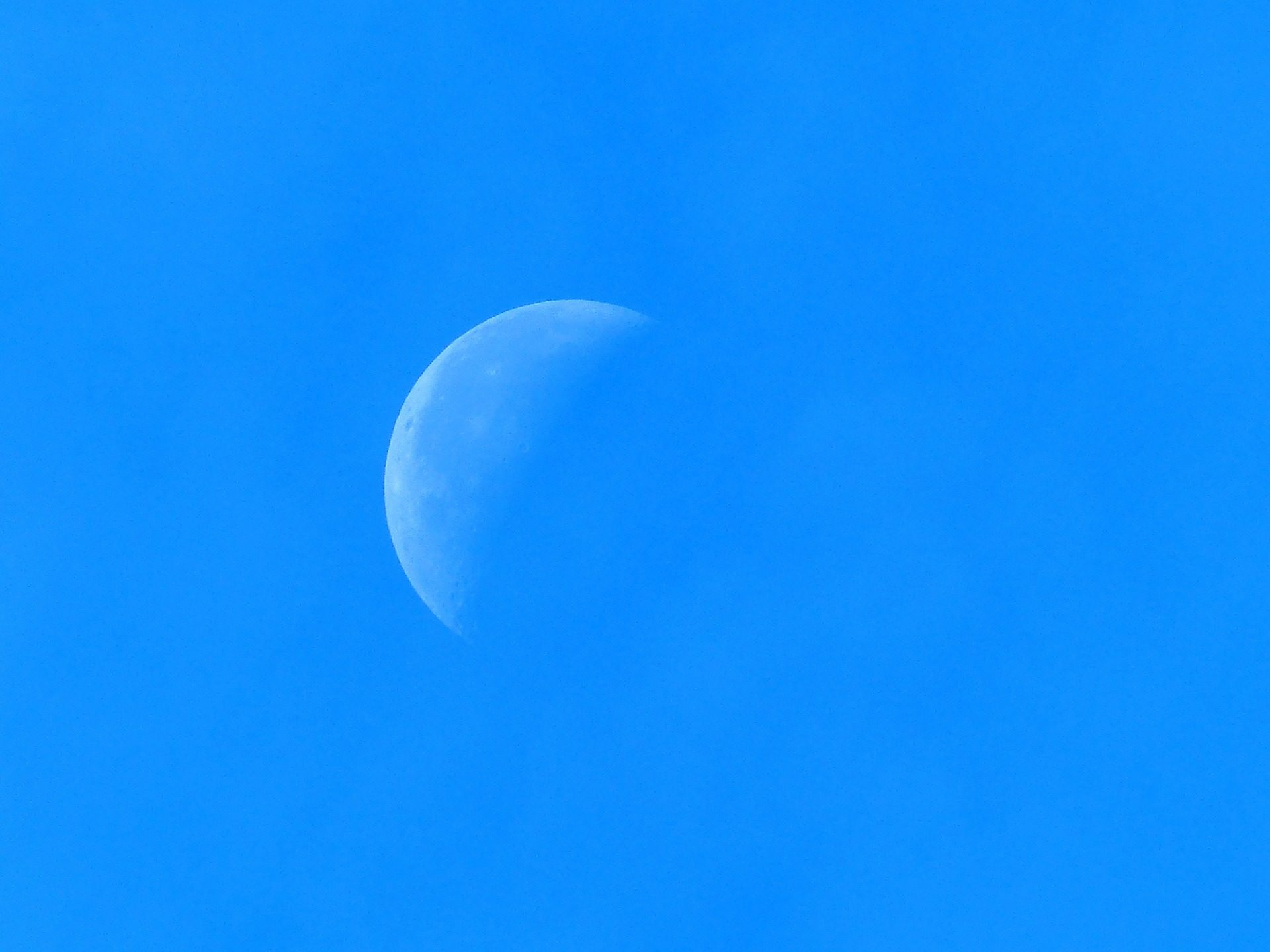 Luna, Cielo, giorno, Astro, in crescita - Sfondi HD - Professor-falken.com