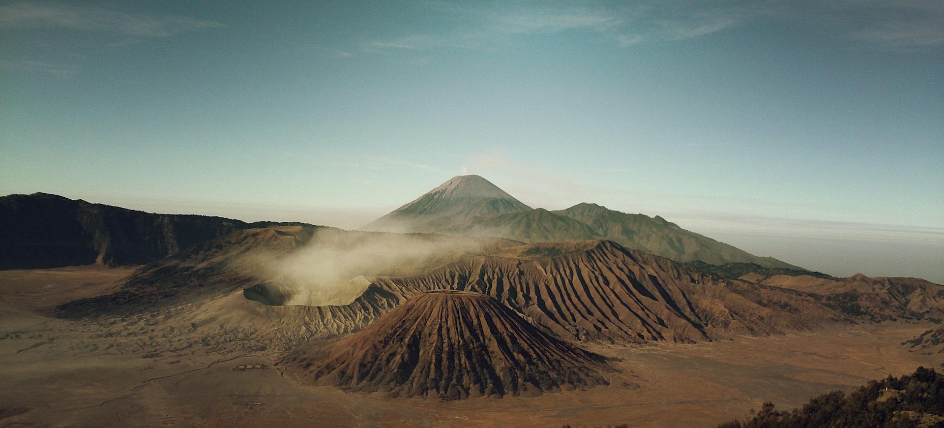 Montañas, Volcán, Gasen, Himmel, Wolken - Wallpaper HD - Prof.-falken.com