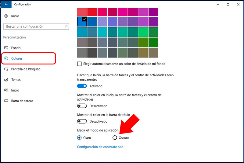 Comment faire pour activer le thème sombre, ou un thème sombre, dans Windows 10 - Image 4 - Professeur falken