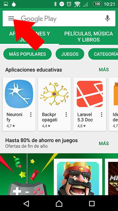 Como desativar atualizações automáticas de aplicativos no seu Android - Imagem 2 - Professor-falken.com