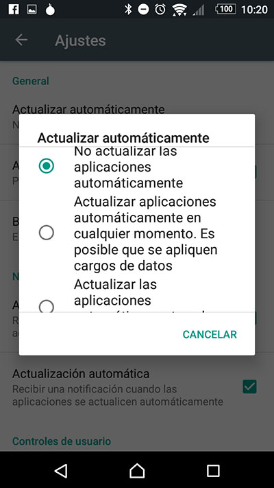 Como desativar atualizações automáticas de aplicativos no seu Android - Imagem 5 - Professor-falken.com