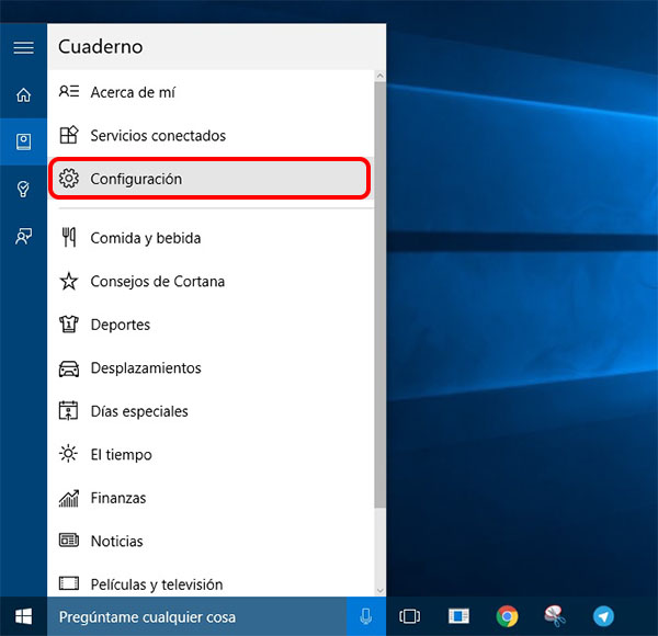Cómo desactivar Cortana en Windows 10 - Image 2 - professor-falken.com