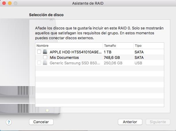 如何设置 macOS 塞拉利昂软件 RAID 系统 - 图像 4 - 教授-falken.com