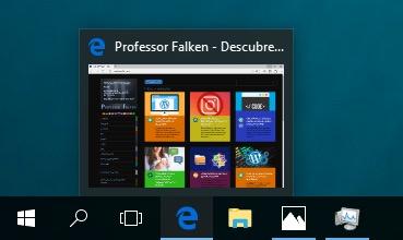 बार देखे गए Windows के कार्यपट्टी में थंबनेल का आकार परिवर्तित करने के लिए कैसे - छवि 1 - प्रोफेसर-falken.com